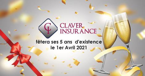Le bureau de courtage, Claver Insurance, à Schaerbeek fête ses 5 ans !