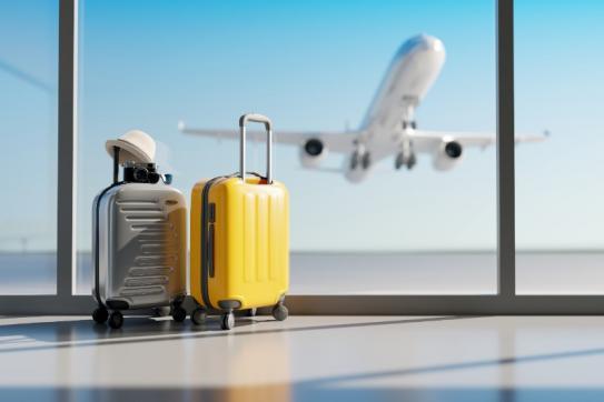 Aéroport départ en vacances