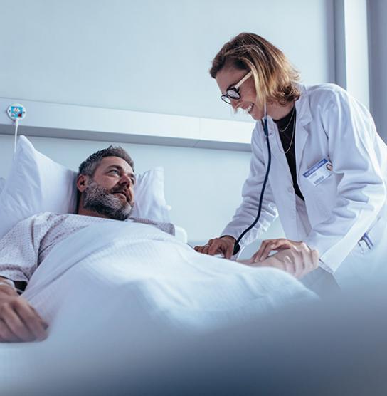 Personne hospitalisé